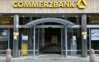 Commerzbank Filiale Eingangsbereich