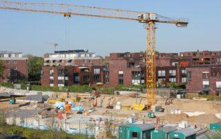 Baustelle Wohnungsbau