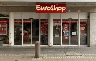 EuroShop Filiale Eingangsbereich