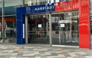 Karstadt Sports Filiale Eingangsbereich