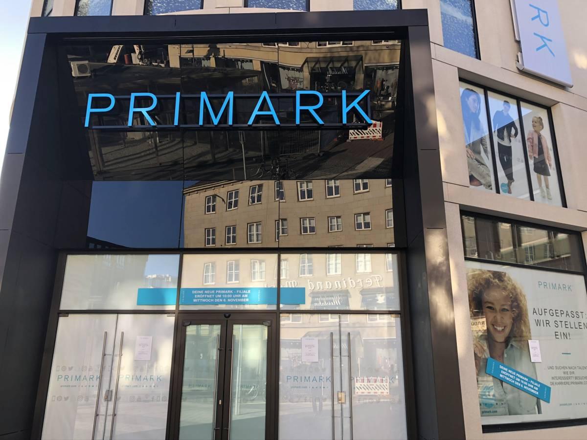 Primark Filiale Eingangsbereich